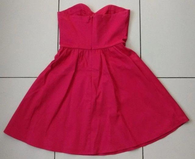 Vestido Curto - Rosa - Tamanho P - Foto 2