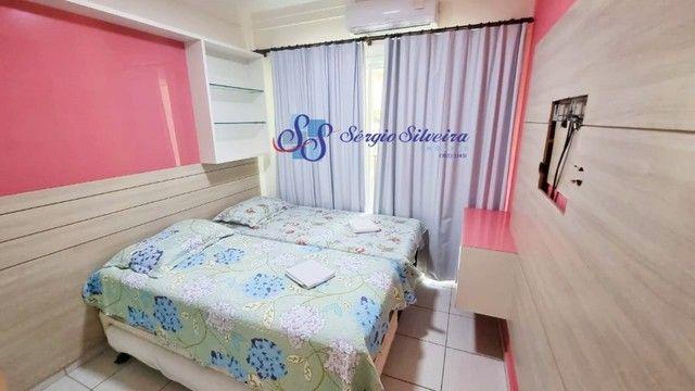 Pé na areia Apartamento 3 quartos no Porto das dunas Beach Living térreo mobiliado  - Foto 10