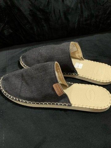 sandália / chinelo / spadrille / alpagata tipo mule das havaianas (original) - Foto 2