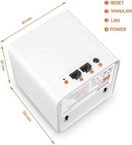 Roteador Wi-fi Mesh Com 3 Gigabit Dual Band Mw5c Branco - Foto 3