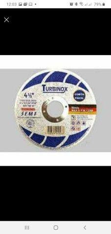 Disco de corte fino embalagem com 25 unidade - Foto 2