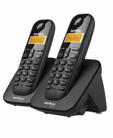 Telefone sem Fio Intelbras TS 3112 + 1 ramal