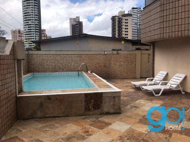 Apartamento com 3 dormitórios à venda, 140 m² por R$ 550.000,00 - Batista Campos - Belém/P - Foto 13