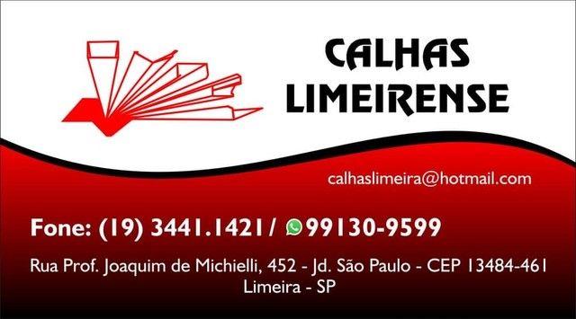 CALHAS EM LIMEIRA E REGIÃO