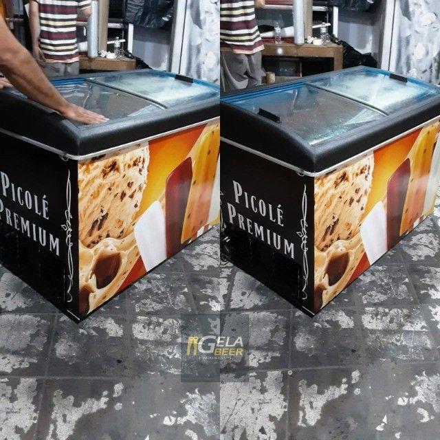 Freezer Horizontal Expositor 410 litros