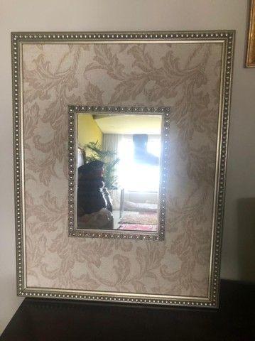 Quadro com espelho - decoracao