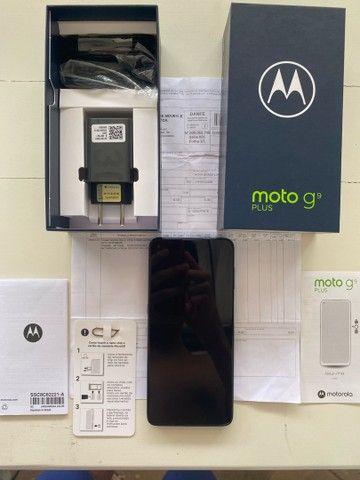 Vendo Moto G9 Plus 128GB- NUNCA USADO- Lacrado- Nota Fiscal- Garantia motorola- Ji parana  - Foto 2