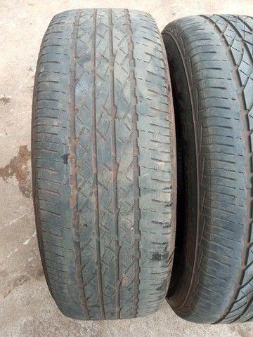 Jogo Pneus Sem Rodas Aro 17 Honda Crv 2011  - Foto 7
