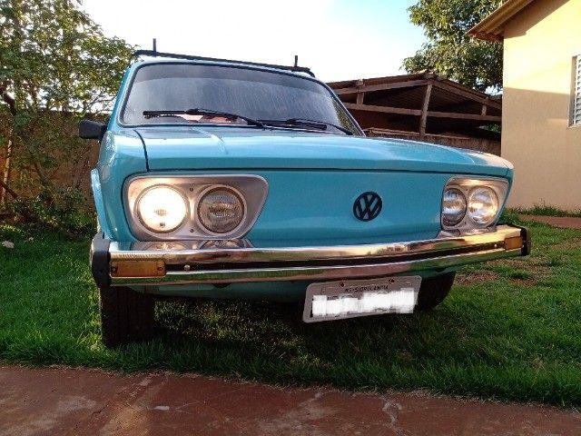 Brasília 80/80 1.6 top restaurada, linda mesmo - Foto 8