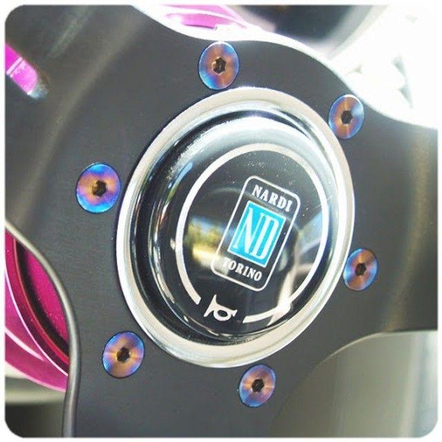 Kit 6 Parafusos Para Cubo Volante Esportivo Titanium E.P.M.A.N