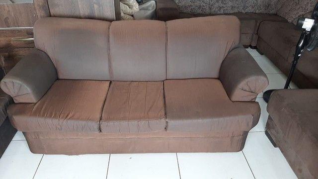 Sofá de 2 e 3 lugares ! Entrega gratis  - Foto 3