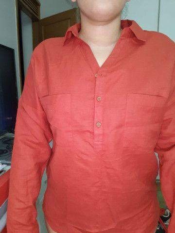 Camisa de linho nunca usada