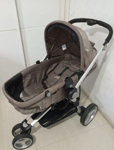 carrinho de bebê+ bebê confort +moisés / compass ii kiddo - Foto 3