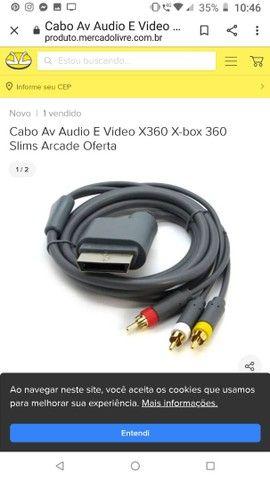 Vendo fonte e cabo xbox 360  - Foto 2
