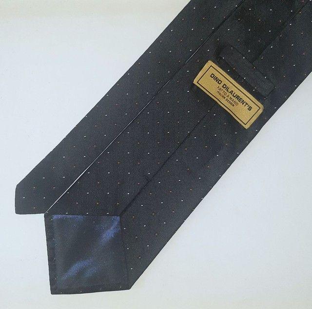 Gravata de seda pura Dino Dilaurent's. - Foto 2
