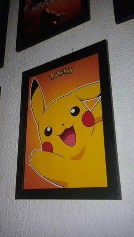 Quadro Pikachu - Pokemon  - Foto 5