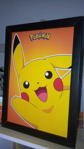 Quadro Pikachu - Pokemon