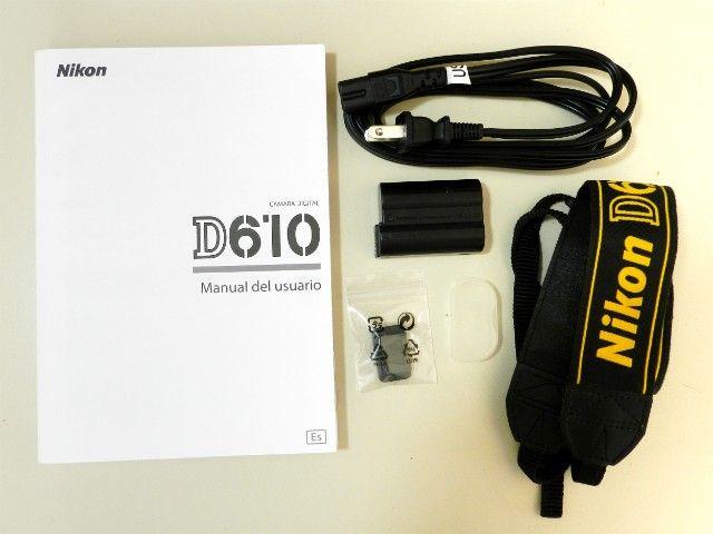Câmera Profissional Usada Nikon D610  - Foto 3