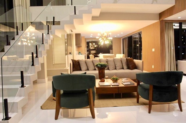 Maravilhosa casa de condomínio com 4 suítes Alphaville Litoral Norte 1 Camaçari BA - Foto 4