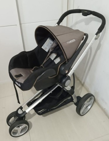 carrinho de bebê+ bebê confort +moisés / compass ii kiddo - Foto 5