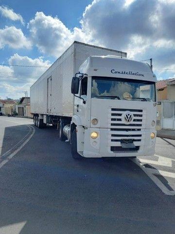 caminhão constellation 19-320+ carreta baú - Foto 12