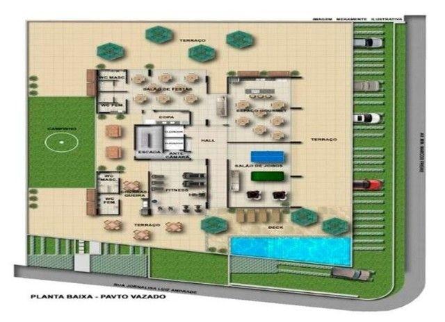 BR_LM - Lindo apartamento na beira mar de Casa Caiada com 95m² - Estação Marcos Freire - Foto 6