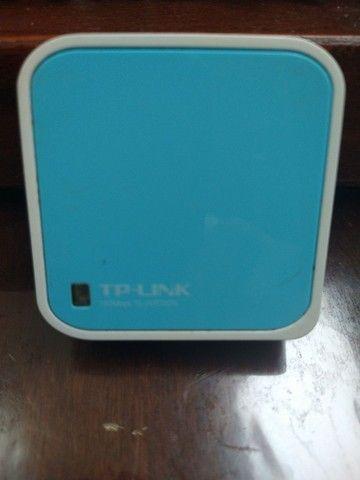 Roteador TP-Link Nano TL-WR702N Wireless N 150Mbps - Roteador, Repetidor e Bridge