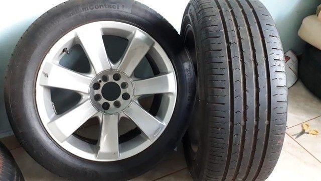 Rodas aro 17 com pneu  do Peugeot 308 - Foto 6