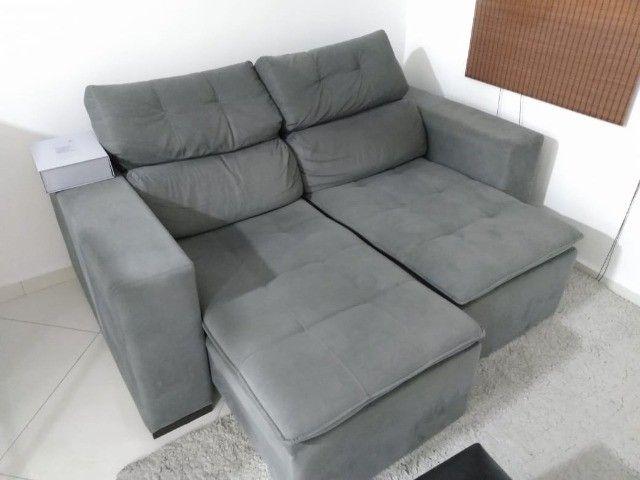 Sofa 2 lugares e cama de casal Etna - Foto 4
