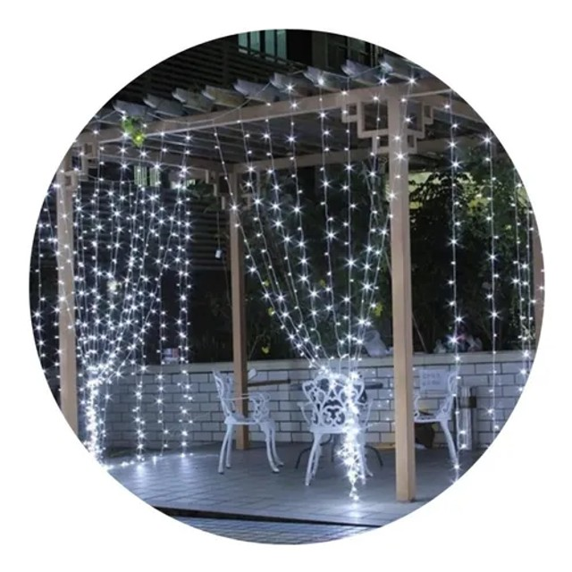 Cortina de led decorativa 127v 3x2 10w