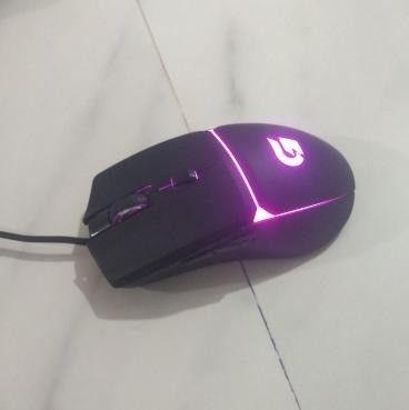 mouse gamer fortek g 7200 dpi 4 cores (seminovo) - Foto 5