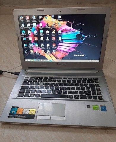 Notebook Z40-70 usado com defeito mas funcionando. Leia bem antes de comprar - Foto 2