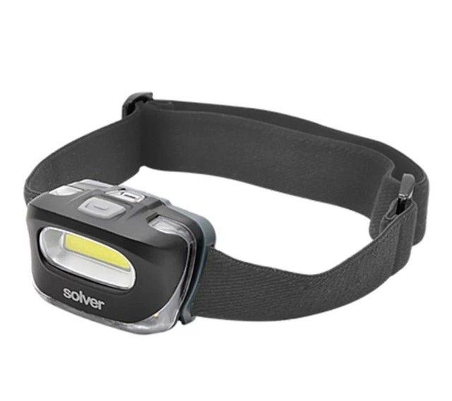 Vendo lanterna de cabeça solver 10 h de autonomia com pilhas 3A