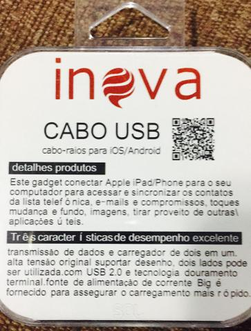 Cabo 2in1 Android e iOS