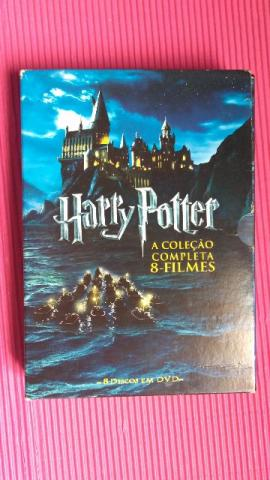 Box Trilogia Harry Potter