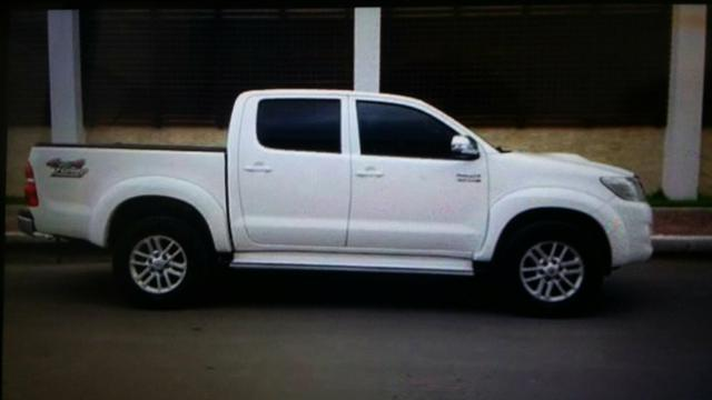 Hilux srv aultomatica 2014