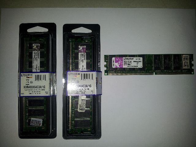 Memória Kingston DDR 400 para PC