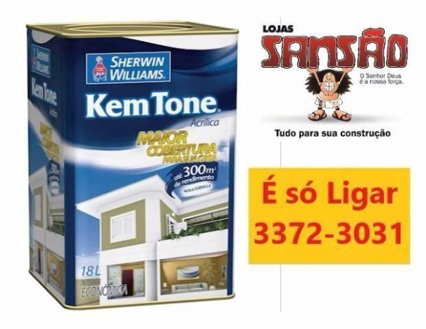 Tinta Acrilica Fosca Pérola 18L Kemtone - Sherwin Williams