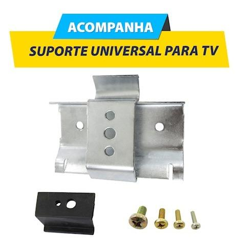 Painel para TV Oxford Artely Cor Pinho Artely - Foto 4