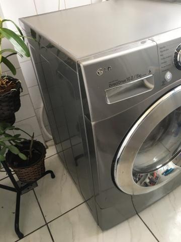 Lavadora e Secadora LG 6 Motion Painel Touch