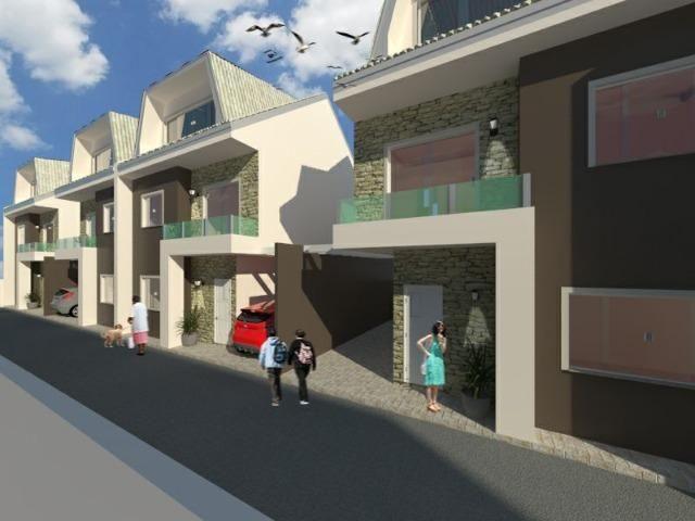 Excelentes Sobrados Tríplex em Condomínio - Pinheirinho - Apenas 4 unidades internas - Foto 3