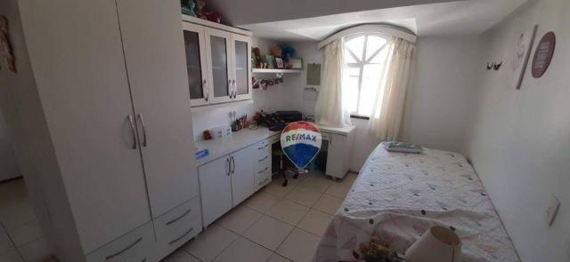 Apartamento duplex com 4 dormitórios à venda, 143 m² por r$ 395.000 - papicu - fortaleza/c - Foto 19