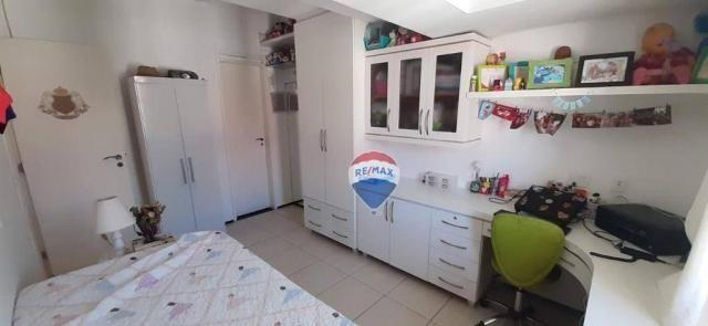 Apartamento duplex com 4 dormitórios à venda, 143 m² por r$ 395.000 - papicu - fortaleza/c - Foto 20