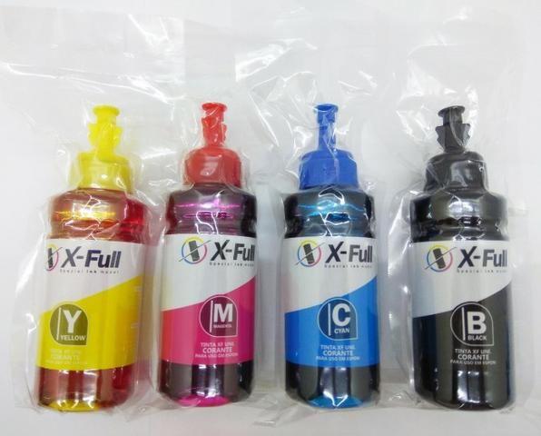 Tinta Corante para Impressora com Bulk Ink / Epson / Canon / HP - Qualidade Fotográfica - Foto 2