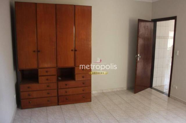 Sobrado com 4 dormitórios para alugar, 246 m² por R$ 4.000/mês - Cerâmica - São Caetano do - Foto 10