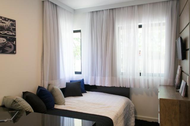 Apartamento Decorado 1 Dormitório No Mercês - Foto 5