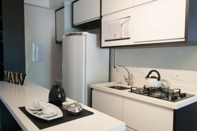 Apartamento Decorado 1 Dormitório No Mercês - Foto 3