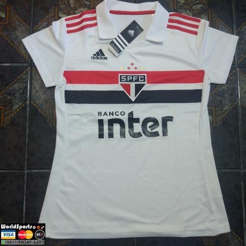 Camisa Adidas São Paulo Feminina 18 19 - Esportes e ginástica ... 4ed3ef055f998
