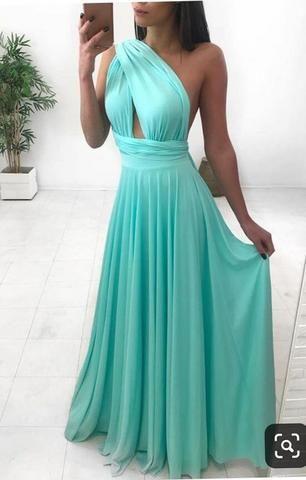 92747596a Vendo vestido azul tiffany