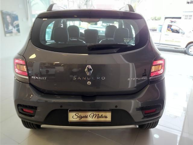 Renault Sandero 1.6 Stepway Flex 2016 Automático - imperdível- baixo KM!! - Foto 12